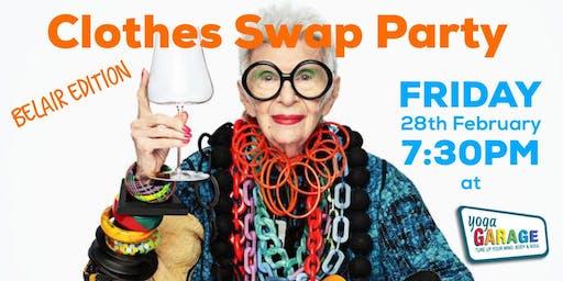 Clothes Swap Party (BELAIR EDITION)