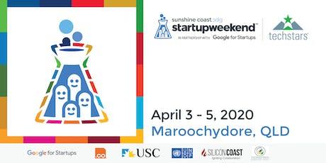 Techstars Startup Weekend Sunshine Coast Sustainable Development Goals tickets