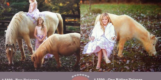 Unicorn Photo Sessions with Pixie Memories