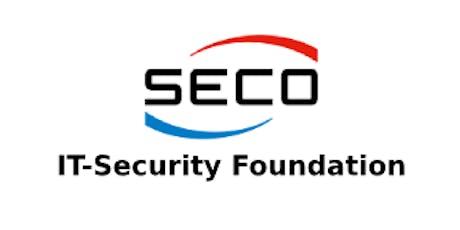 SECO – IT-Security Foundation 2 Days Training in Edinburgh tickets