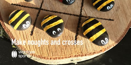 Make noughts and crosses tickets