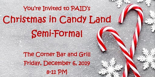 PAID Christmas in Candy Land Semi Formal