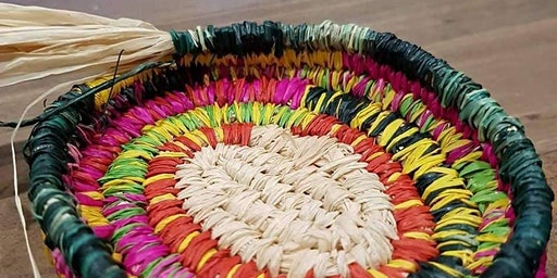 Weaving workshops with Aunty Janice