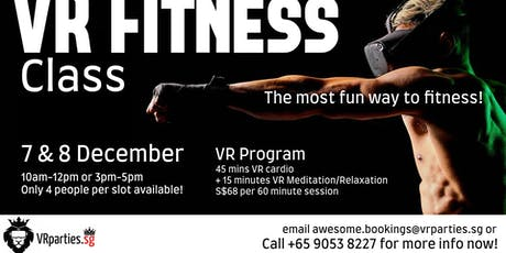 VR Fitness Class tickets