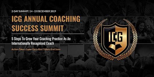ICG Annual Coaching Success Summit