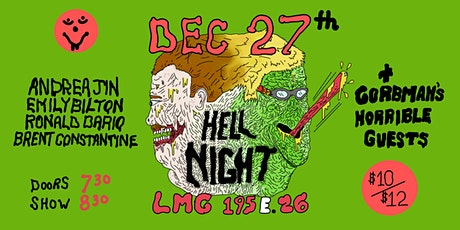 HELL NIGHT with Gorbman & Aaron tickets