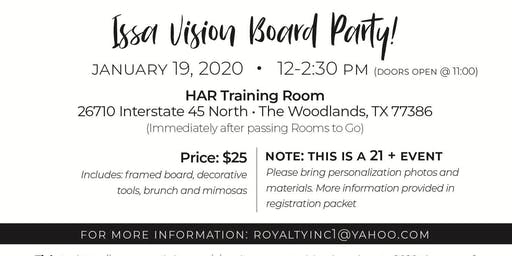 Royalty Presents: Vision Board Party 20/20 The Year of Perfect Vision