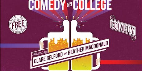 Comedy on College tickets