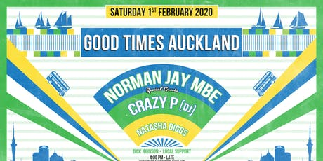 Good Times feat Norman Jay (MBE), Crazy P (DJ) and tickets