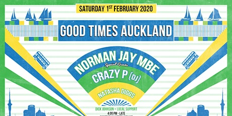 Good Times feat Norman Jay (MBE), Crazy P (DJ) and Natasha Giggs tickets