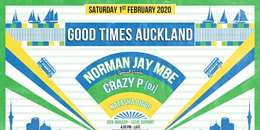 Good Times feat Norman Jay (MBE), Crazy P (DJ) and