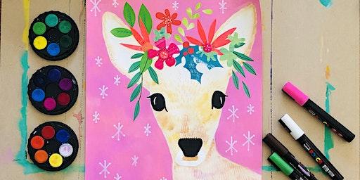 Rudolph & the Boho Reindeer #1