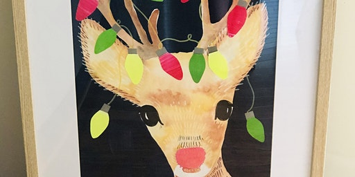 Rudolph & the Boho Reindeer #2