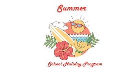 Scratch art - Summer Holiday Program tickets