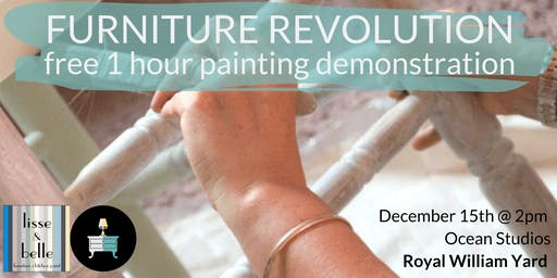 FREE 1 Hour furniture painting demonstration