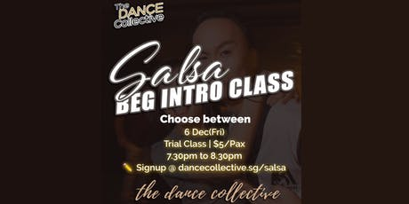 Intro to Salsa for Beginners - Trial Dance Class tickets