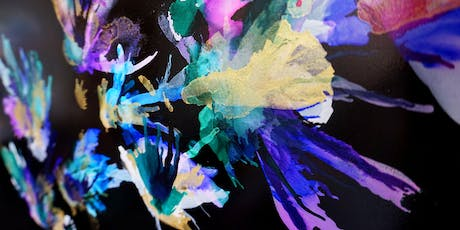 Alcohol Inks - Special Edition Black Aluminium workshop tickets