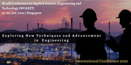 World Conference on Applied Science, Engineering and Technology tickets