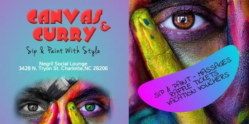 Canvas & Curry (Sip & Paint)