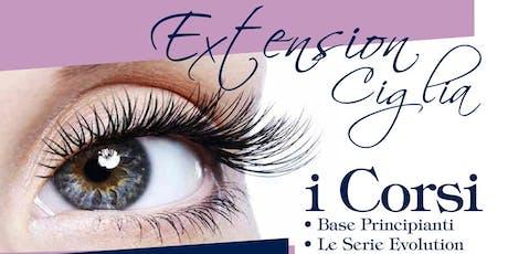 Extension Ciglia - Corso Base - Lunedì 13 e Martedì 14 Gennaio 2020 biglietti