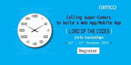 Ramco 24-Hour Hackathon - Lord of The Codes