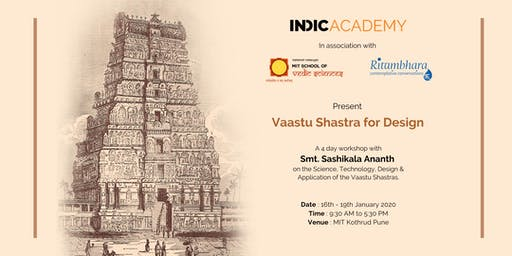 Indic Academy presents Vaastu Shastra for Design