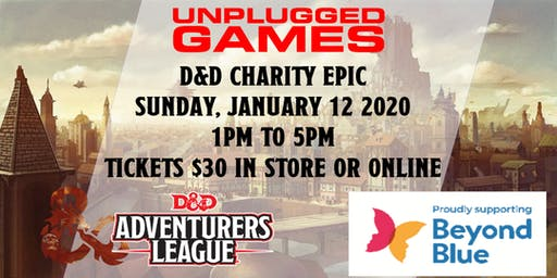 Unplugged Games D&D for Beyond Blue