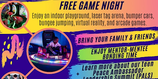 Family & Friends Game Night (Free for ages 6-18)