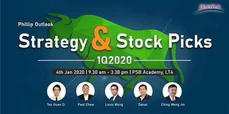 Strategy & Stocks Picks 1Q2020 tickets