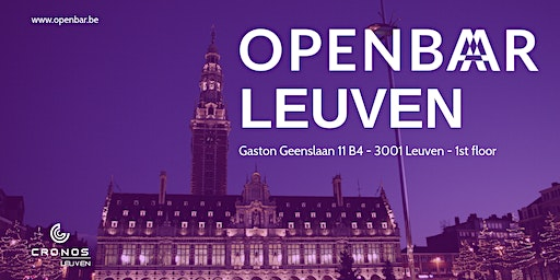 Openbar Leuven March // Customer Centric Development & Cloud AI and IoT