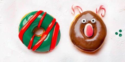 Christmas Donut Decorating
