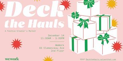 WeWork—Deck The Hauls: A Creator's Festive Market
