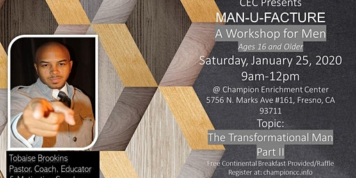 CEC MAN-U-FACTURE Mens Workshop