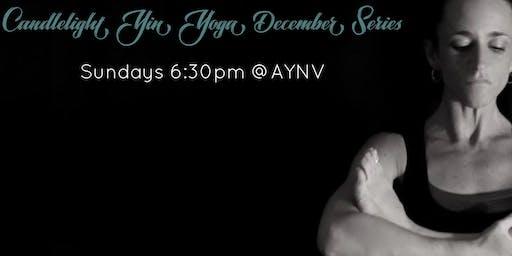 Candlelight Yin Yoga December Series