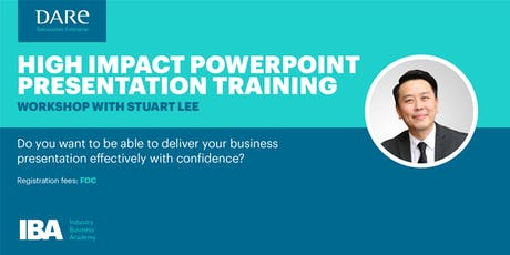 High Impact Powerpoint Presentation Training tickets