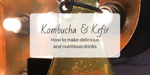 Kombucha & Kefir Making Workshop: Fermentation 101