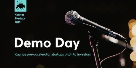 Demo Day: Kaunas Startups Pitch to Investors tickets