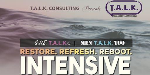 Restore. Refresh. Reboot. - Intensive Workshop