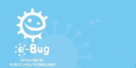 e-Bug Training provided by Public Health England tickets