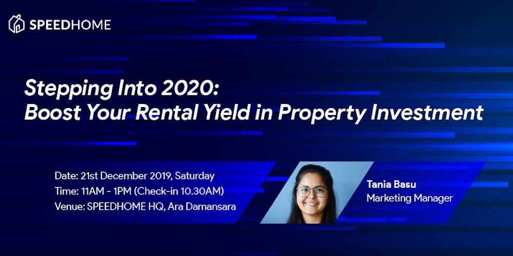 Stepping Into 2020: Boost Your Rental Yield in Property