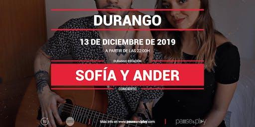 Concierto Sofía y Ander en Pause&Play Durando