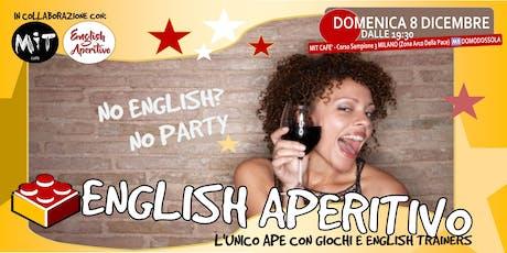English Aperitivo: No english? No party! biglietti