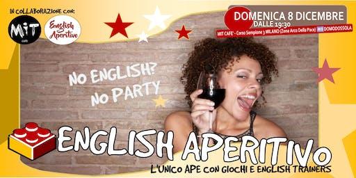 English Aperitivo: No english? No party!