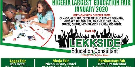 Lagos Student Recruitment Education Fair January 2020 tickets
