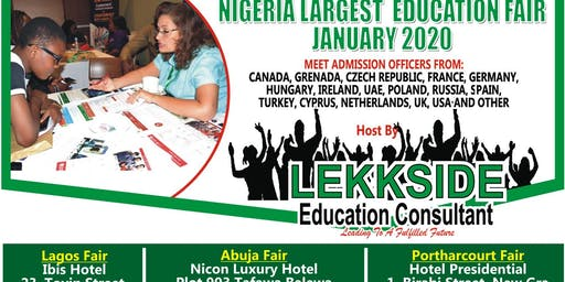 Lagos Student Recruitment Education Fair January 2020