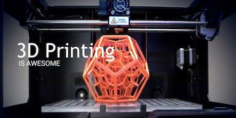 Atelier découverte : impression 3D billets