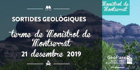 Sortida Geològica pel terme de Monistrol de Montserrat 191221 entradas