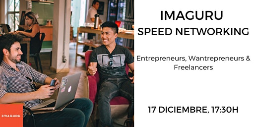Imaguru Speed Networking (Entrepreneurs, Wantrepreneurs & Freelancers)