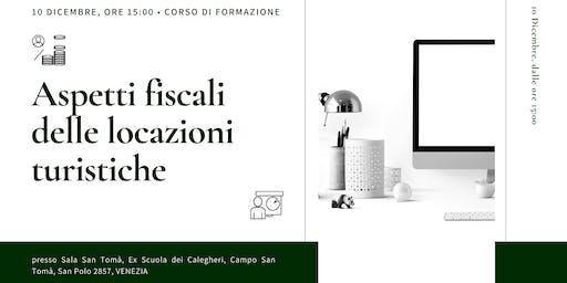 Aspetti fiscali delle locazioni turistiche - Corso ABBAV