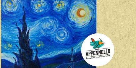 Stelle e Van Gogh: aperitivo Appennello a Roma Centocelle biglietti
